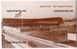 Ebbets Field, Brooklyn Dodgers