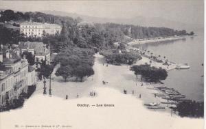 OUCHY, Switzerland, 1900-10s ; Les Quais #1
