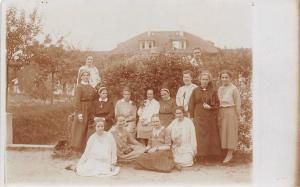 A Group of Nuns in Habits Among a Group of Other Dutch? Ladies RPPC c1910