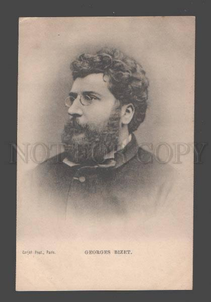 088114 Georges BIZET Great French COMPOSER vintage Photo PC