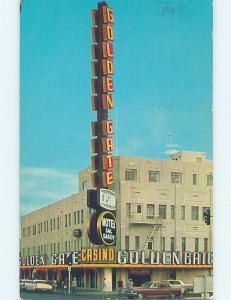 Pre-1980 GOLDEN GATE CASINO Las Vegas Nevada NV c4654