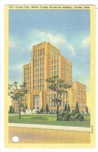 Ogden City, Weber County Municipal Building, Ogden, Utah, PU-1942