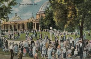 TORONTO , Ontario , Canada , 1900-10s ; C.N.E. , Young Canada's Day