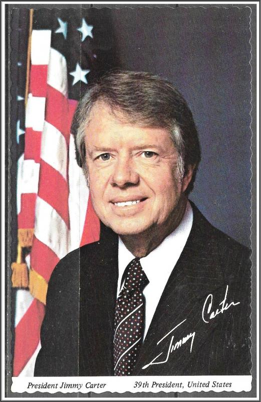 President Jimmy Carter Inaugurated 1977