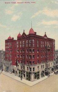 Iowa Council Bluffs Grand Hotel 1912