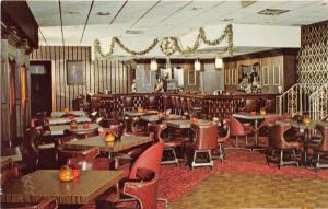 Garfield New Jersey~The Cotillion Restaurant Dining Room~c1960s Postcard
