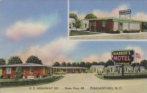 North Carolina Pleasant Hill Warrens Motel & Restaurant