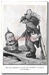 Old Postcard Fantasy Illustrator My old Guillaume Army Soldier