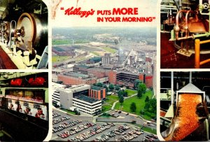 Michigan Battle Creek The Kellogg Company 1978