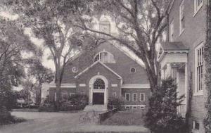 Massachusetts Northampton Scott Gymnasium Smith College Albertype