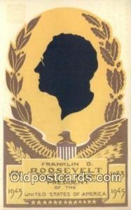 Franklyn D. Roosevelt President of United States Postcard Post Card, Carte Po...