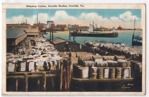 Shipping Cotton, Norfolk VA