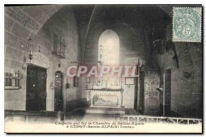 Postcard Old Chapel which was the Holy Chamber Alpais has Cudot Holy Alpais Y...