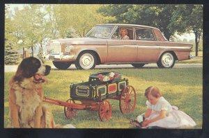 1954 AERO WILLYS VINTAGE CAR DEALER ADVERTISING POSTCARD