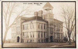 Wisconsin Beaver Dam High School 1912  Real Photo sk4224