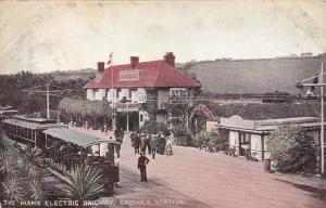 The MANX Electric Railway , Groudle Station  , ISLE OF MAN , 00-10s