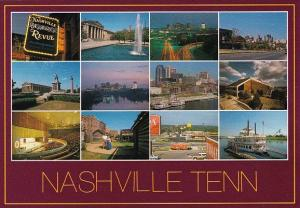 Tennessee Nashville Music City U S A