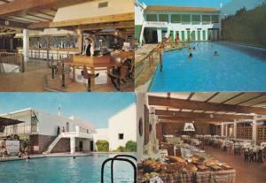 Mota Del Cuervo Spain Motel Hotel 4x Postcard s