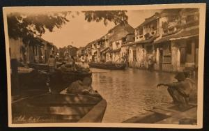 Picture Postcard Unused Old Batavia Jakarta Indonesia Pre-1945 LB