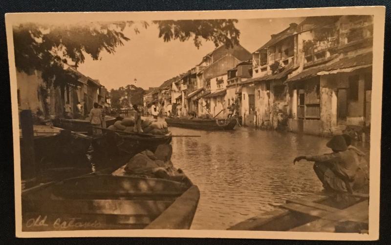 Picture Postcard Unused Old Batavia Jakarta Indonesia Pre-1945 LB