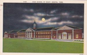 Tennessee Bristol High School At Night