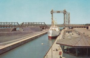 MONTREAL, Quebec, 1950-1960s; The St. Lawrence Seaway