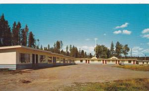 Exterior View, 100 Mile Motel, Off the Cariboo Highway, 100 Miles House, Brit...