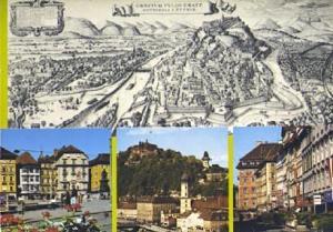 POSTAL 56907: Graecivm Vulgo Gratz Metropoli Styriae Landeshauptstadt Graz St...