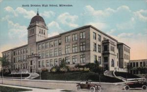 Wisconsin Milwaukee South Division High School 1920