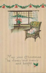 Greetings - May your Christmas be Cheery Merry and Bright - pm 1922 - Gibson DB