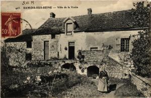 CPA SAMOIS-sur-SEINE - Villa de la Voute (639085)