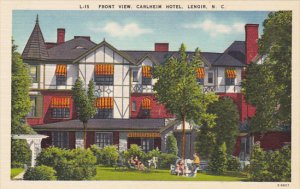 North Carolina Lenoir Front View Carlheim Hotel