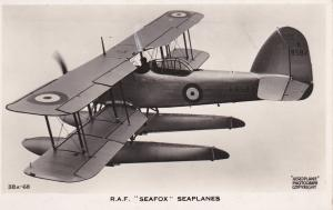 RP: R.A.F. SEAFOX Seaplanes / airplane, 20-30s