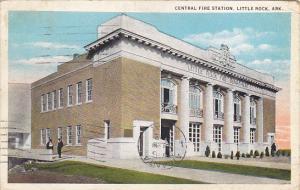 Arkansas Little Rock Central Fire Station 1932 Curteich