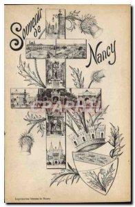Old Postcard Remembrance Nancy