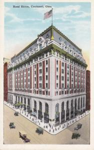 CINCINNATI, Ohio, 1910s; Hotel Sinton