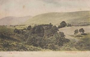 Glen Fruin Helensburgh Antique Aerial Postcard