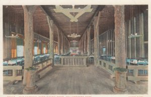 YELLOWSTONE National Park , 1910s ; Old Faithful Camp Dining Room