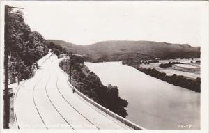 Tennessee Chattanooga Highway Up Lookout Mountain Real Photo