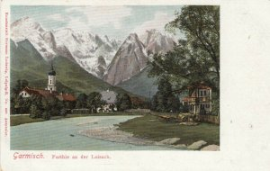 GARMISCH , Germany , 1901-07 ; Parthie an der Loisach