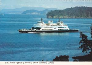 Ferry , Queen of Alberni , B.C. , Canada , 60-80s
