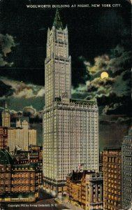 USA Woolworth Building At Night New York City 04.50
