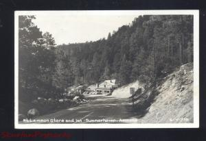 RPPC SUMMERHAVEN ARIZONA MT. LEMMON STORE INN HOTEL REAL PHOTO POSTCARD