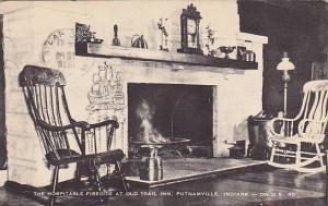 The Hospitable Fireside at Old Trial Inn, Putnamville, Indiana,   PU_1957