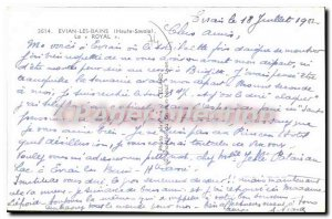 Postcard Old Royal Evian Les Bains