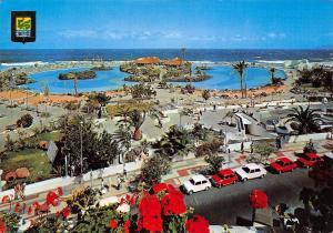 Spain Puerto de la Cruz Tenerife Lac Martianez et Avenue de Colon Lago Martianez