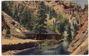Trout Pool & Pavilion, 7 Falls, Colorado Springs CO