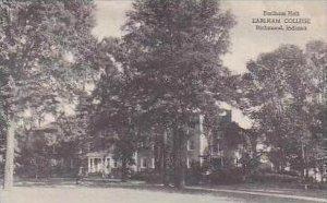 Indiana Richmond Earlham Hall Earlham College Albertype