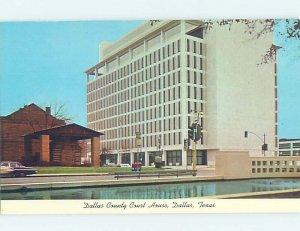 Pre-1980 COURTHOUSE SCENE Dallas Texas TX AE9753