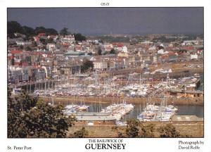Guernsey Postcard St Peter Port, Channel Islands by D.R Photography P44